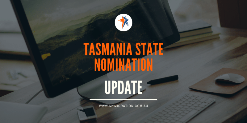 Tasmania state nomination